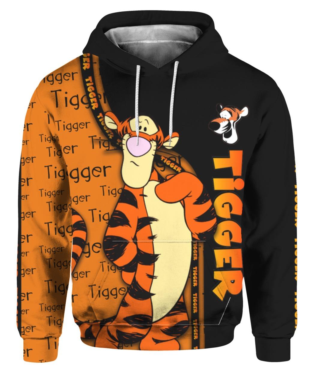 Tigger winnie-the-pooh full printing hoodie 1