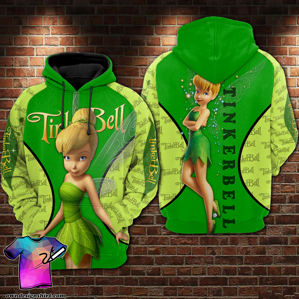 Tinker bell all over printed shirt