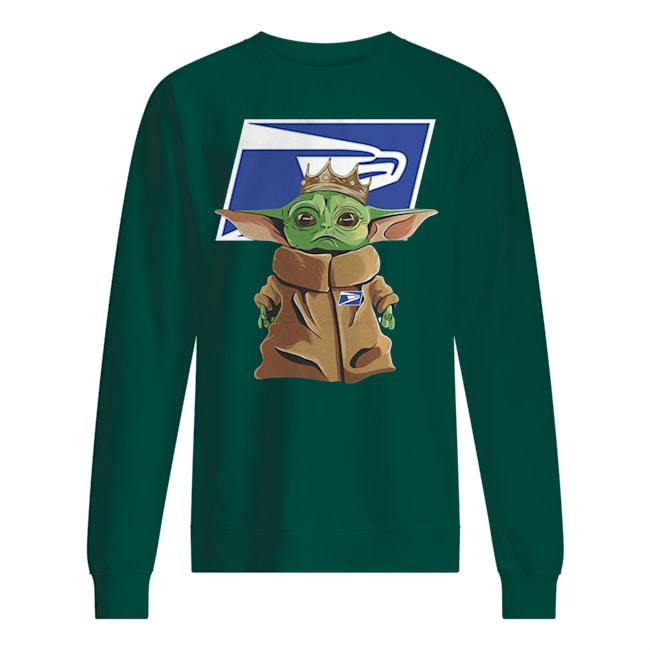 United states postal service baby yoda sweatshirt