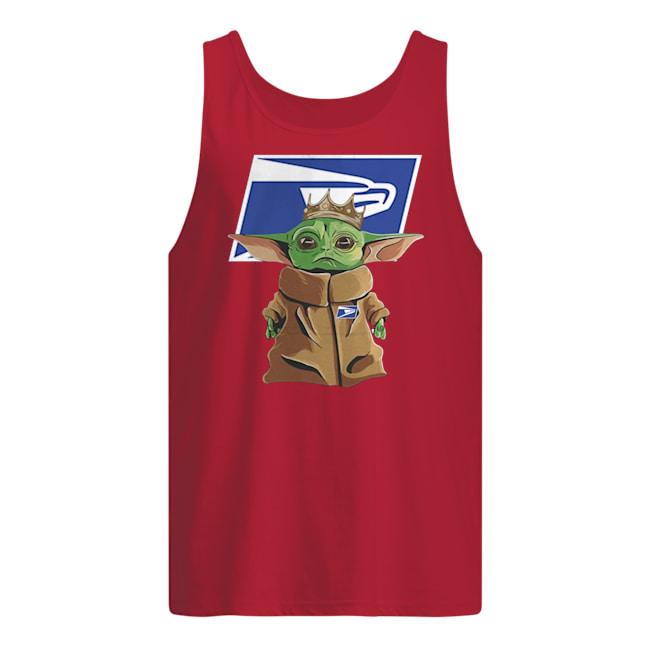 United states postal service baby yoda tank top