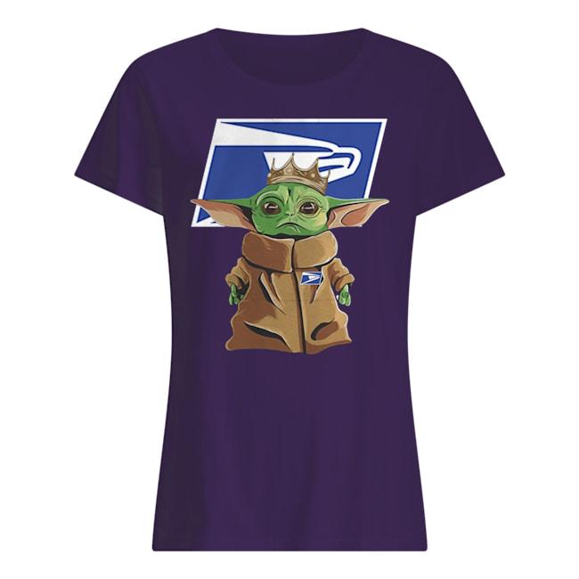United states postal service baby yoda womens shirt
