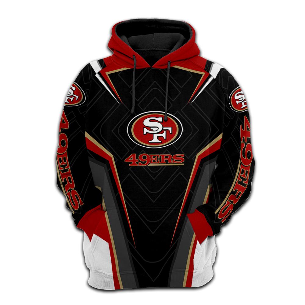 NFL san francisco 49ers full printing hoodie 1