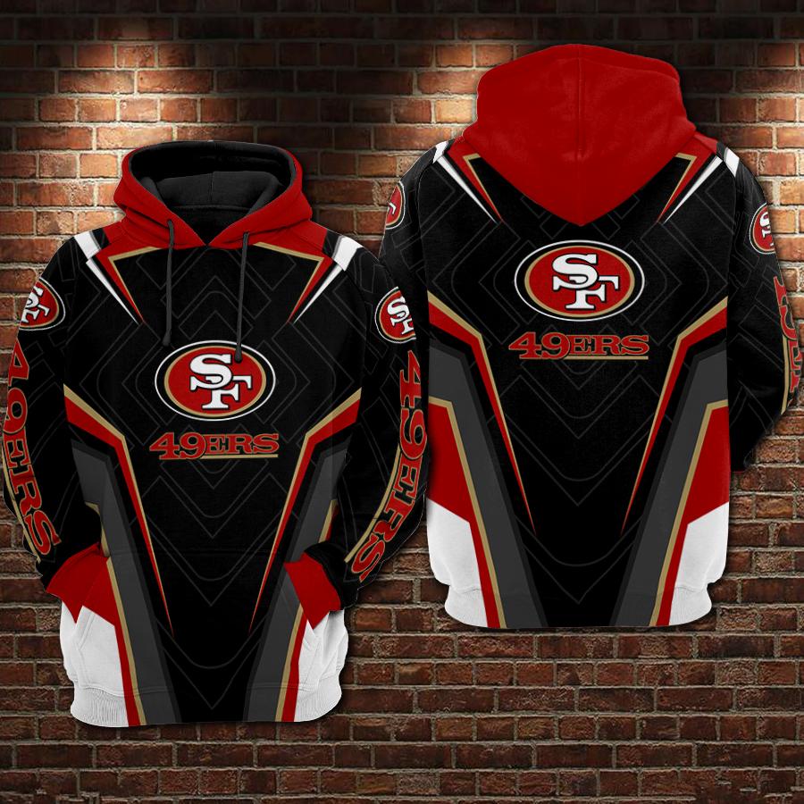 NFL san francisco 49ers full printing hoodie