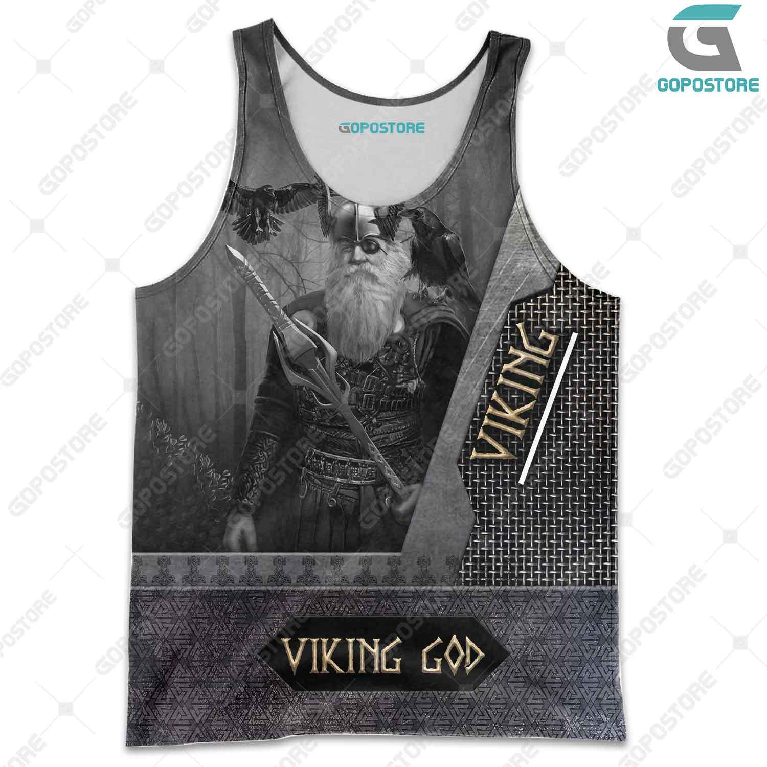 Odin the all father viking full printing tank top