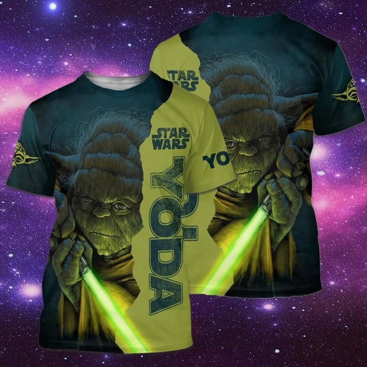 Star wars baby yoda full over print tshirt