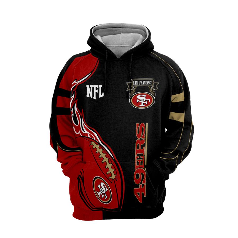 Super bowl san francisco 49ers nfl full printing hoodie 1