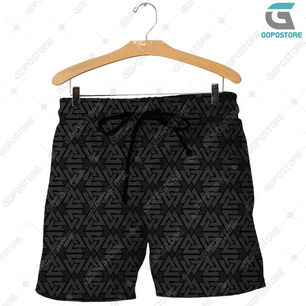 Viking god odin the all father full printing shorts