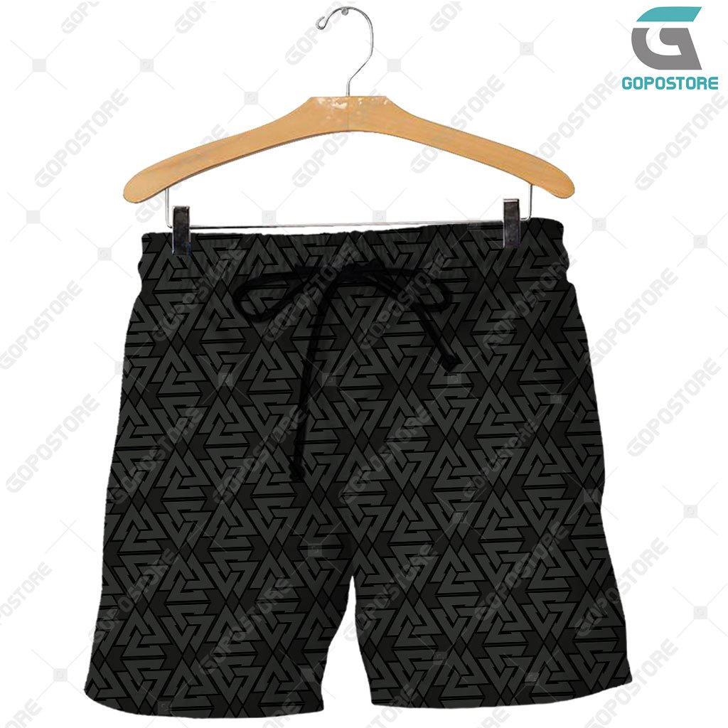 Viking god viking warrior full printing shorts