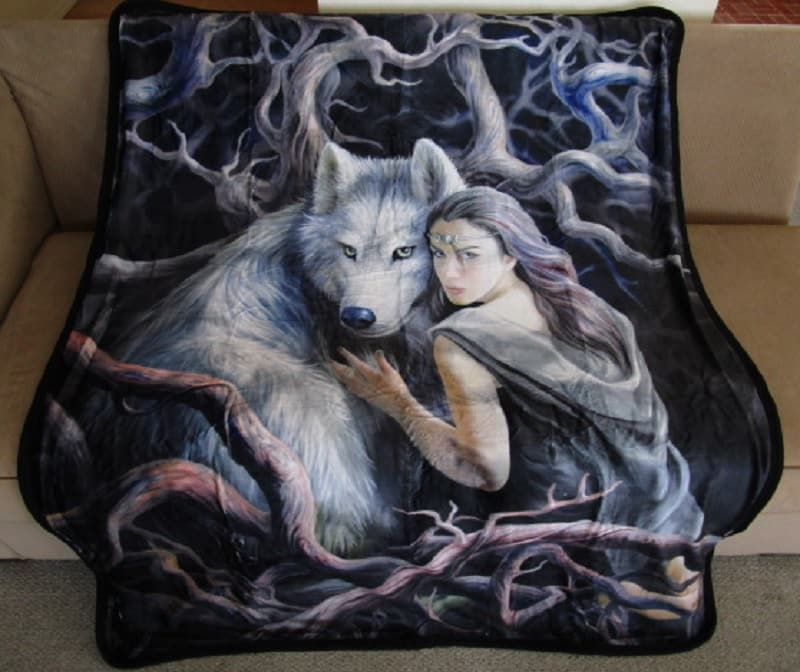 Wolf return to the wild quilt 1