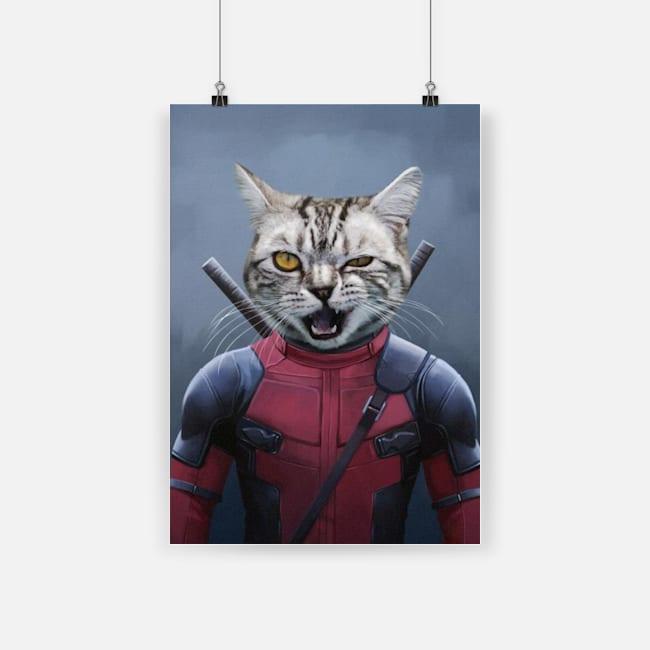 Deadpool deadpaw poster 1