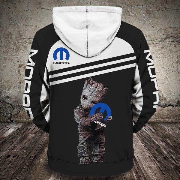 Groot hug mopar full printing hoodie 1