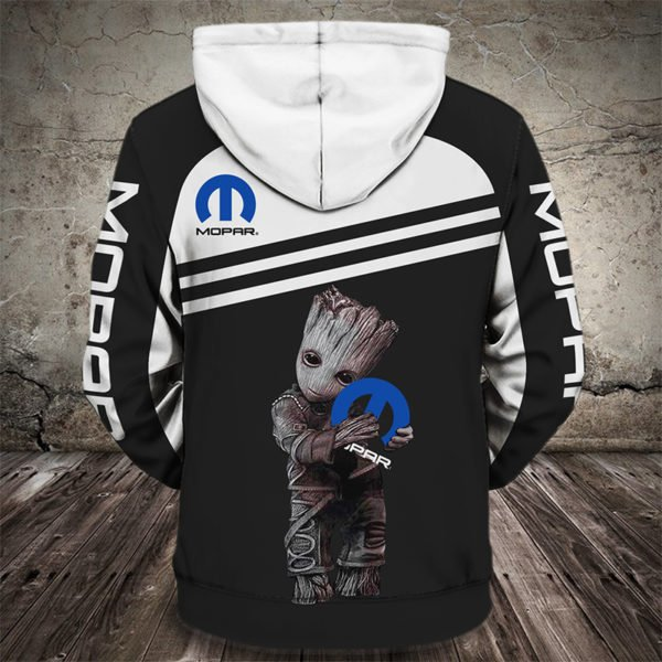 Groot hug mopar full printing hoodie 4
