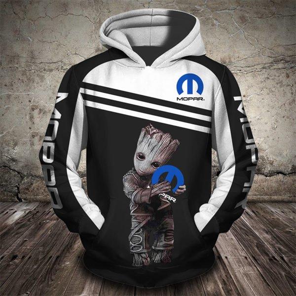Groot hug mopar full printing hoodie
