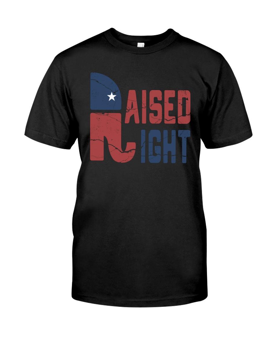 Republican raised right guy shirt