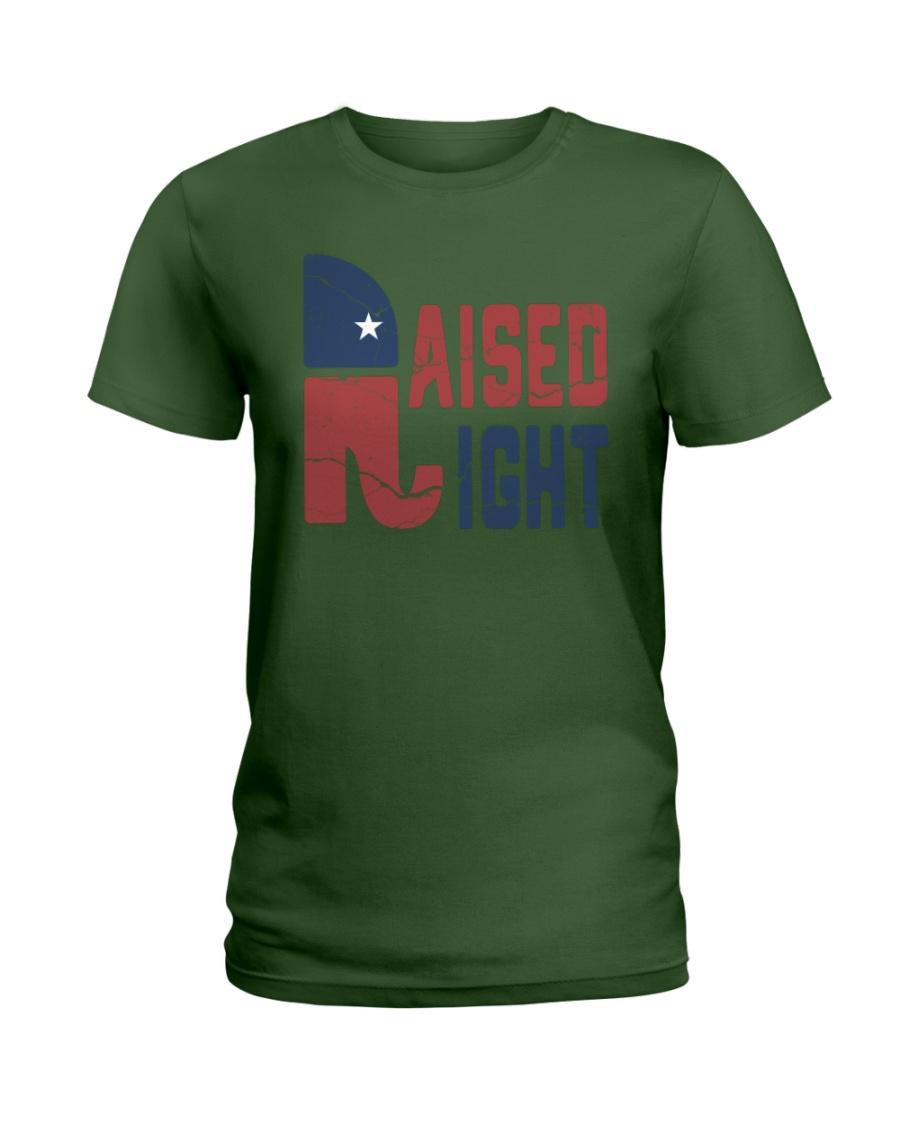 Republican raised right lady shirt