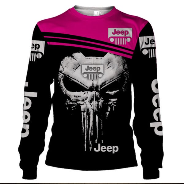 The jeep punisher all over printed sweatshirt