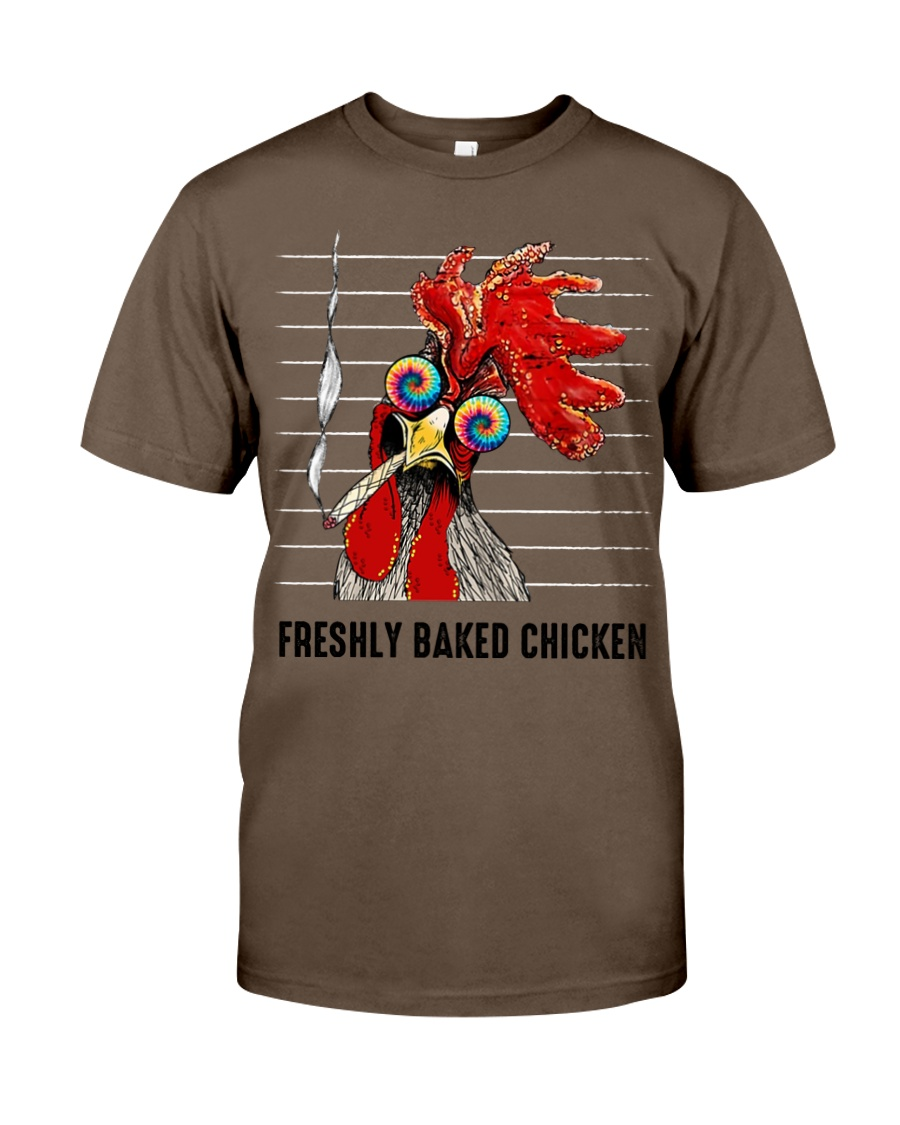 Vintage freshly baked chicken guy shirt