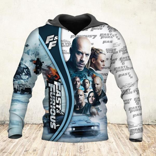 19 years of fast and furious thank you for the memories full printing hoodie