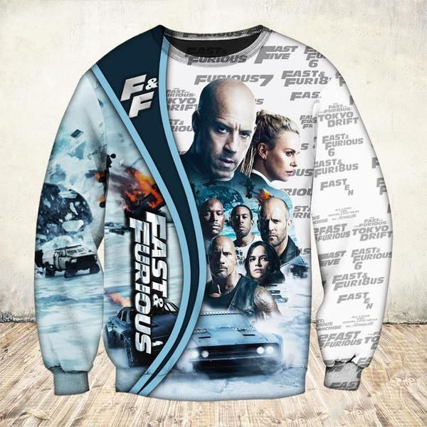 19 years of fast and furious thank you for the memories full printing sweatshirt