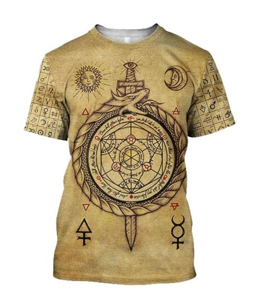 Alchemy dragon full printing tshirt