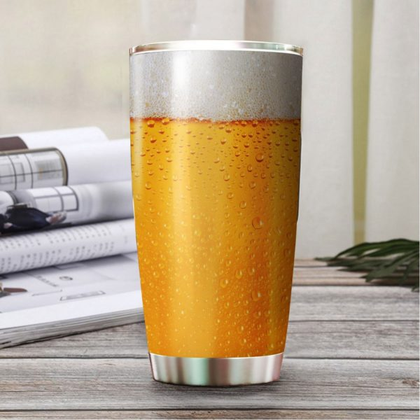 Beer stainless steel tumbler 4