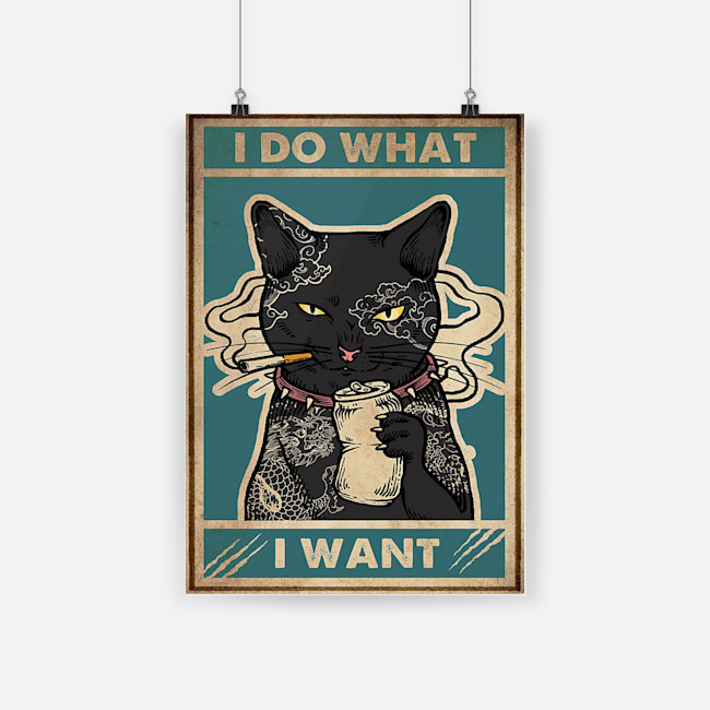 Cat i do what i want poster 4