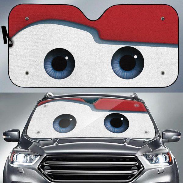 Disney cars lightning mcqueen auto sun shade 1