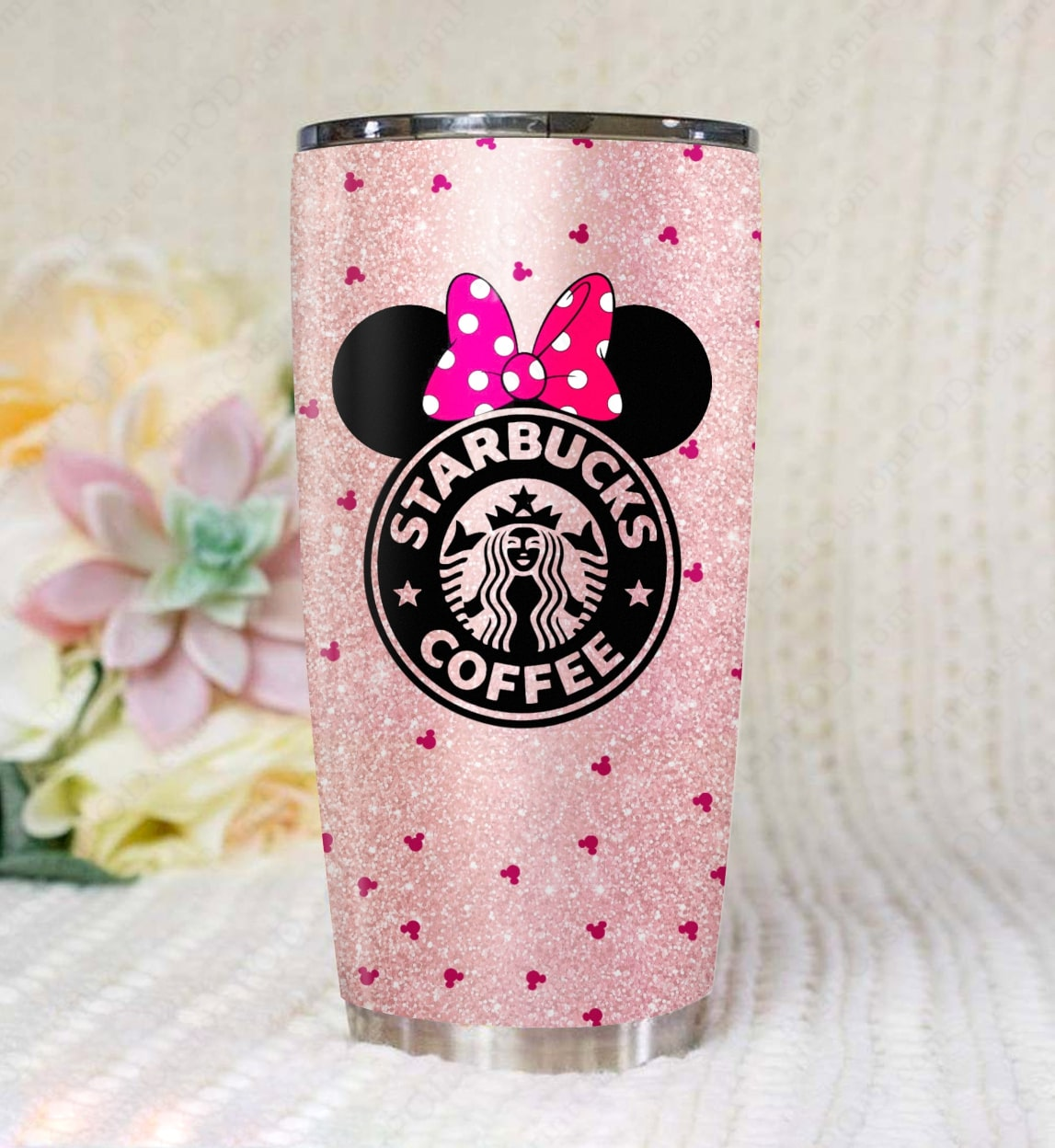 Disney minnie mouse starbucks tumbler 1