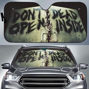 Don't open dead inside auto sun shade 1