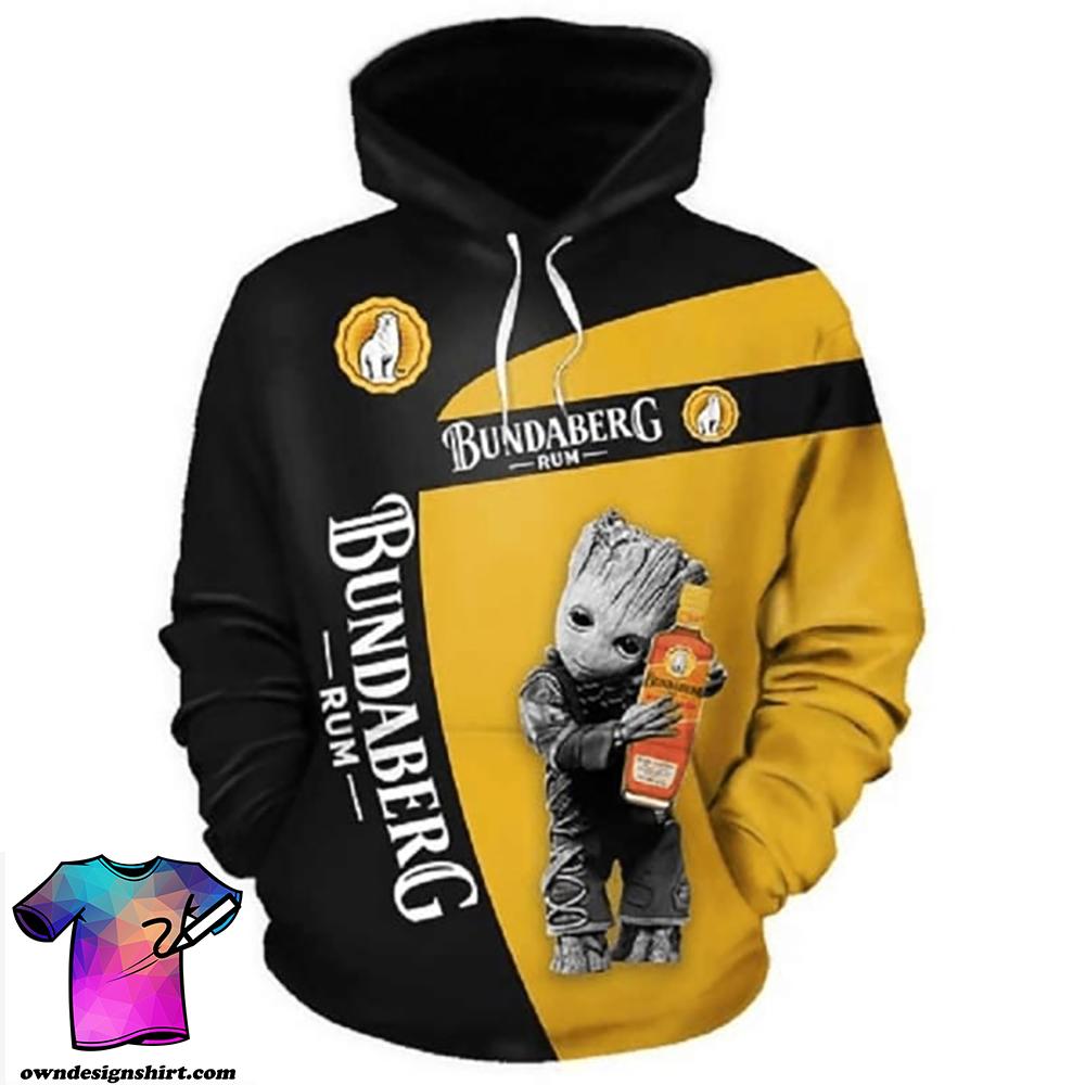 Groot hold bundaberg full printing shirt