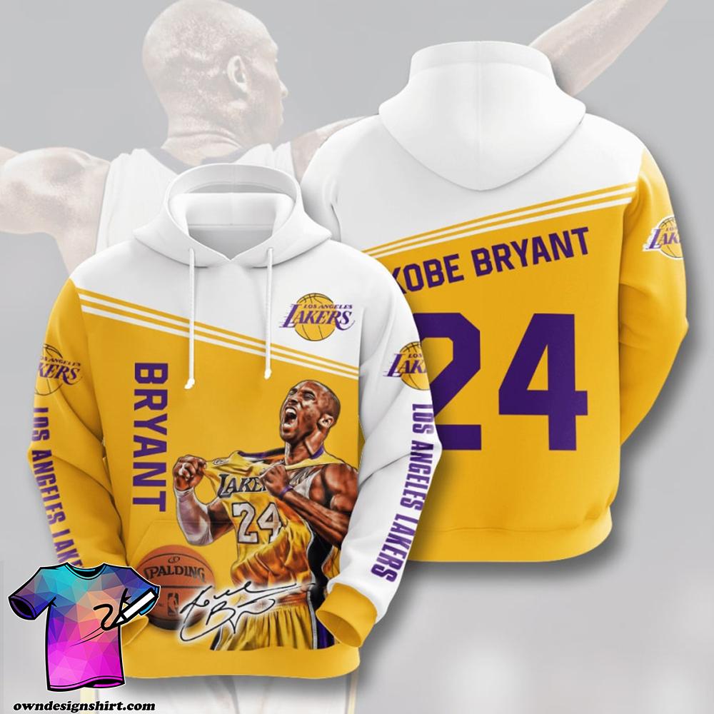 Legend kobe bryant 24 full printing shirt