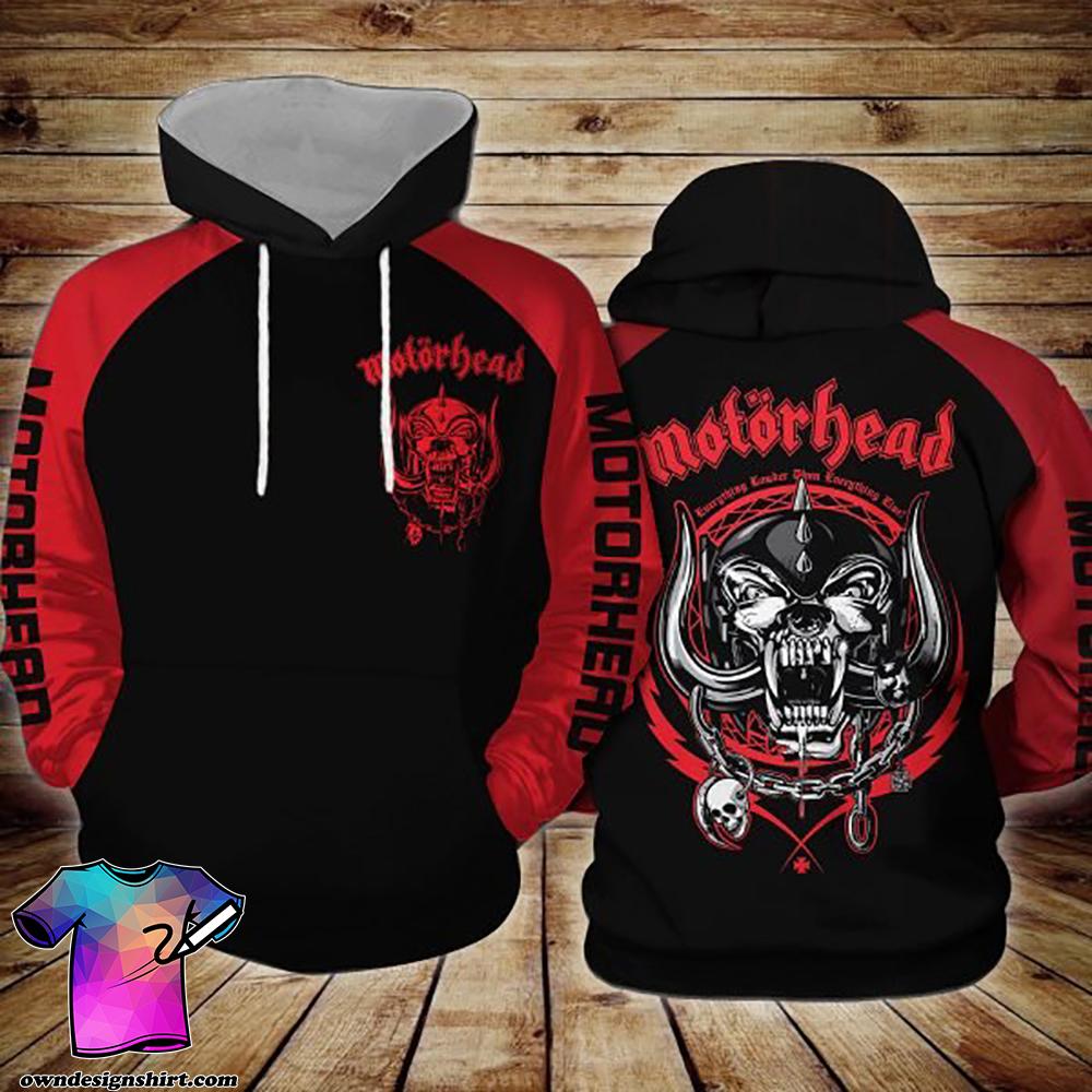 Motorhead logo all over printed shirt