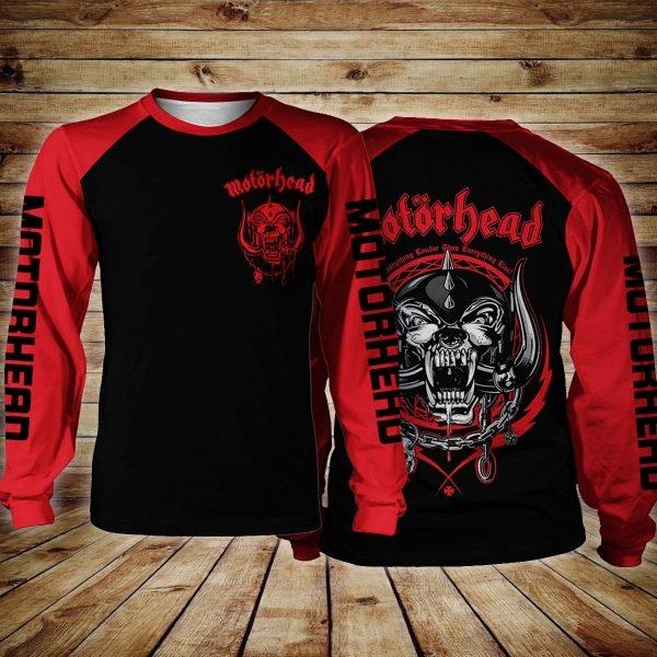Motorhead logo all over printed sweatshirt