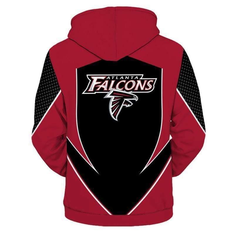 NFL football atlanta falcons full printing hoodie 3