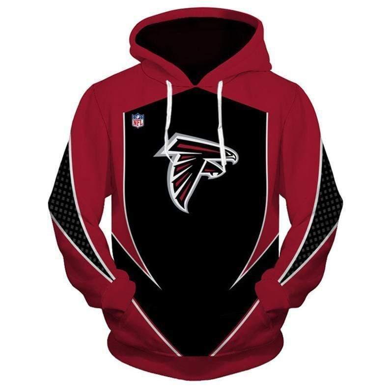 NFL football atlanta falcons full printing hoodie