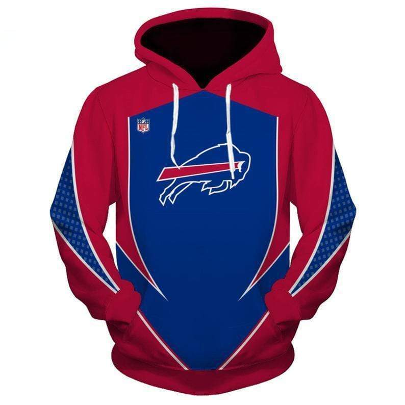 NFL football buffalo bills full printing hoodie 2