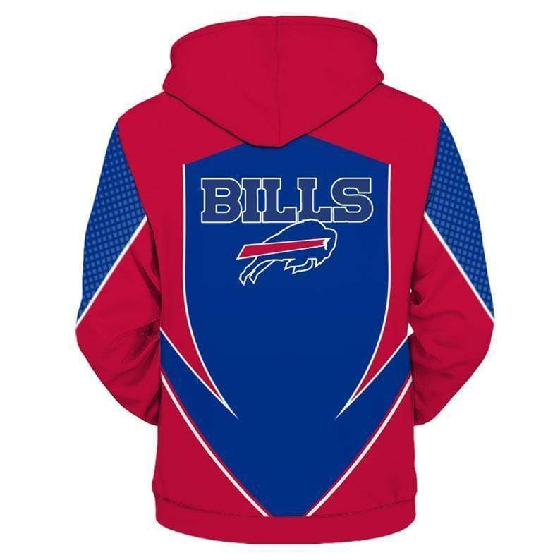 NFL football buffalo bills full printing hoodie 3