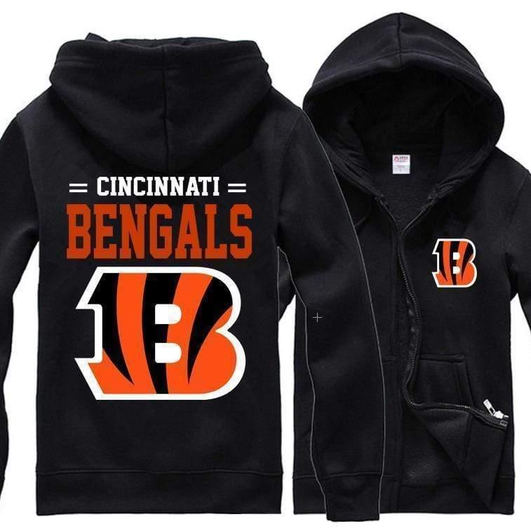 NFL football cincinnati bengals full printing hoodie
