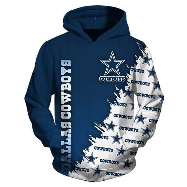 NFL football dallas cowboys full printing hoodie