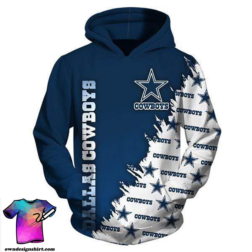 NFL football dallas cowboys full printing shirt