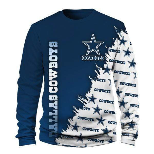 NFL football dallas cowboys full printing sweatshirt