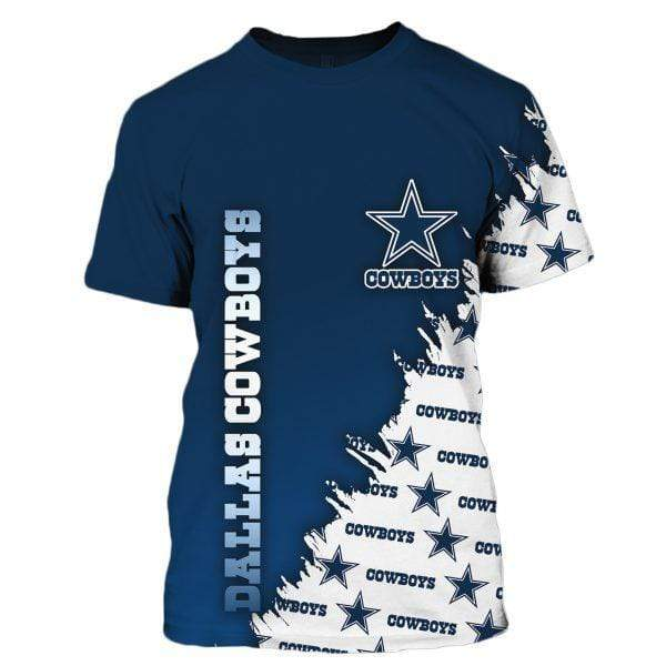 NFL football dallas cowboys full printing tshirt