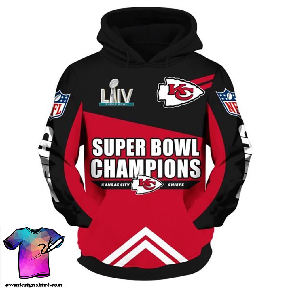 NFL super bowl champions kansas city chiefs all over print shirt