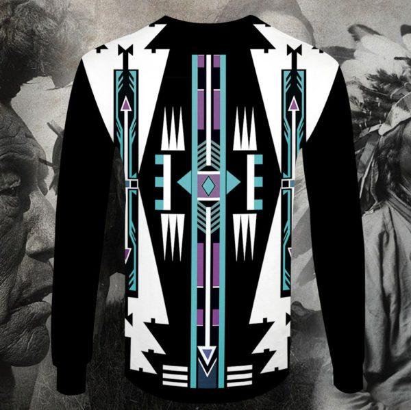 Native american native pattern full printing sweatshirt
