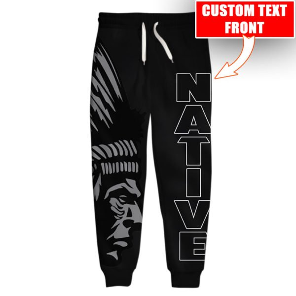 Personalized native american cultures full printing long-pant