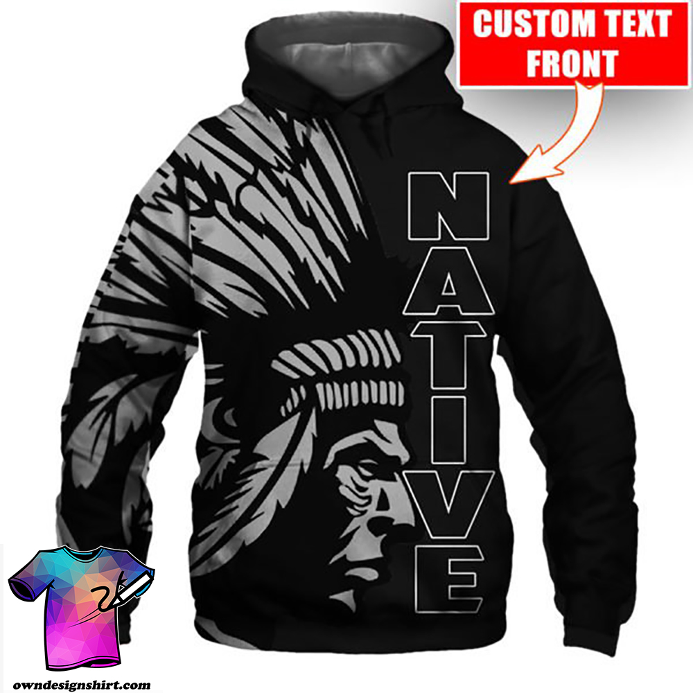 Personalized native american cultures full printing shirt