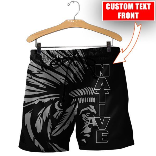 Personalized native american cultures full printing shorts
