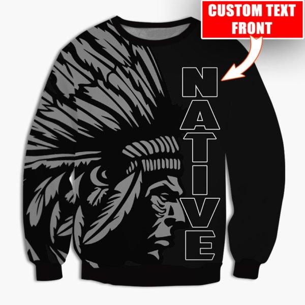 Personalized native american cultures full printing sweatshirt