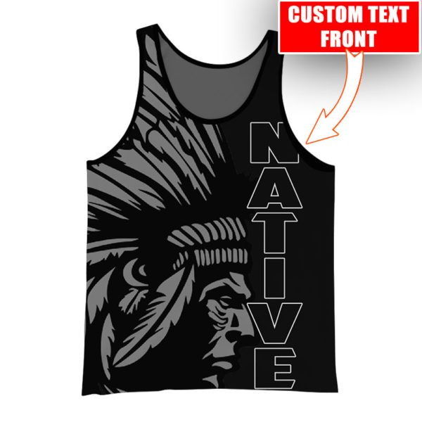 Personalized native american cultures full printing tank top