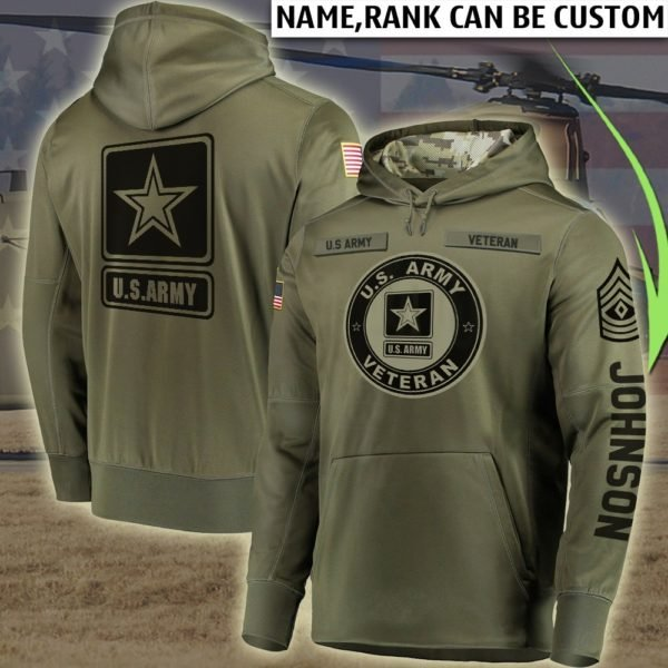 Personalized united states marine corps veteran all over printed hoodie 1